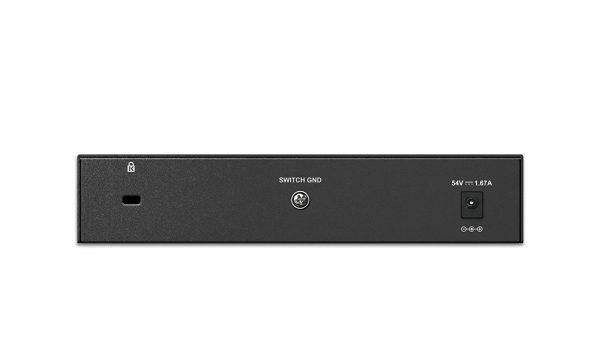 D-Link DGS-1008P 8 Port Gigabit Unmanaged Desktop Switch 4 PoE Ports 68W PoE