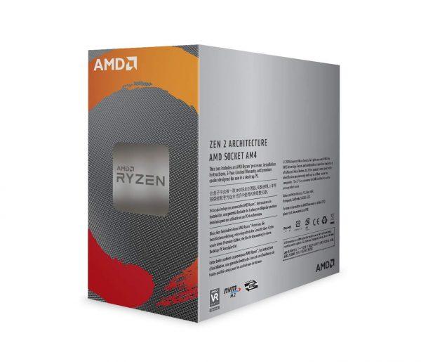 AMD Ryzen 5 3600 6-core 12-Thread Unlocked Desktop Processor with Wraith Stealth